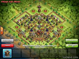 Coc Maps Titanium Layout For Th10 Th11 Pushing To Titan By Just Defending