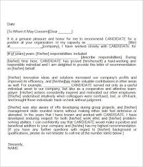 recommendation letters recommendation letter sample for teacher