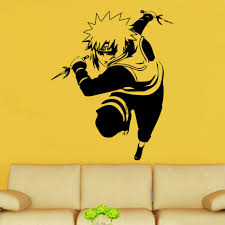 manga hentai vinyl wall art shop home naruto yondaime decal vinyl wall sticker mh9