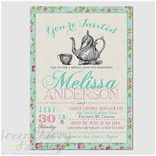 bridal shower tea party invitations baby shower tea party invitations awesome bridal shower invitation