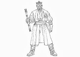star wars darth maul coloring pages free coloring pages