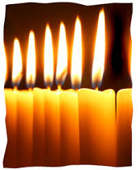 shabbas candles three grandmothers and their shabbat candles reflections
