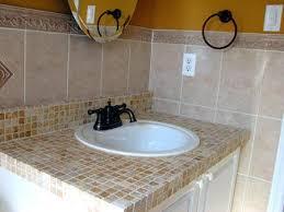 Bathroom Vanity Countertop Ideas Bathroom Vanity Tops Ideas Tile Vanity Top Ideas Twestion