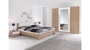 Schlafzimmer Eiche Braun Schlafzimmer Set Mit Bett 180 X 200 Cm Eiche Sanremo Hell Woody 33