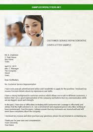 customer service representative cover letter sample sample cover