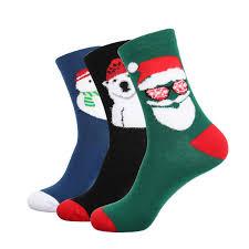 fuzzy christmas socks wholesale 2018 men winter socks 3d fuzzy lovely hip hop christmas