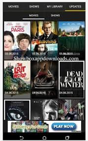 showbox app android showbox app install showbox for android