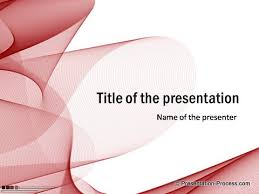 red powerpoint title template free for download projects to try