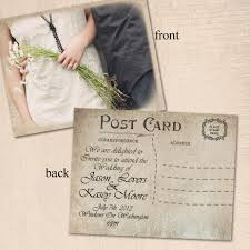 best post card wedding invitations 70 about remodel wedding