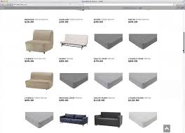 Beddinge Sofa Bed Slipcover by E Commerce Ux What Information To Display In Product Listings 46