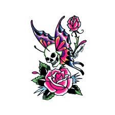ed hardy pink temporary tattoos