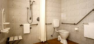 designed bathrooms bathrooms for the disabled necessary handicap design elements for
