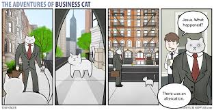Business Cat Memes - the adventures of business cat territory