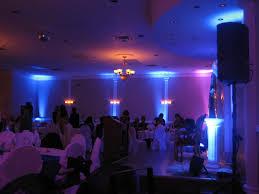 led lighting for banquet halls dj naf s led wall lighting set up for an engagement party at