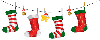 Christmas Stocking Decorations Transparent Christmas Stockings Decoration Png Clipart Gallery