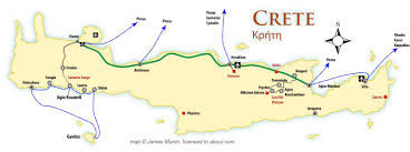 Map Of Crete Greece by Crete Location Map And Travel Guide