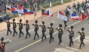 Flags Of All Nations Asean Flag Bsf Women Motorcycle Contingent Among Many Firsts This