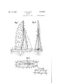 patent us2140250 sailboat google patents