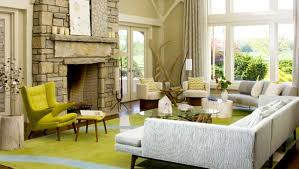 Gray And Yellow Chair Design Ideas Gray Window Curtains Ideas Contemporary Living Room Sets White