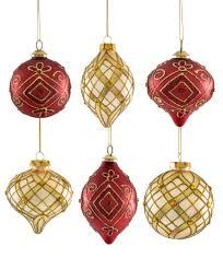 and gold teardrop ornaments tree classics