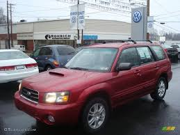 2005 Cayenne Red Pearl Subaru Forester 2 5 Xt 1830166 Photo 2