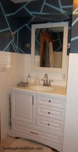 bathroom vanity stephanie marchetti sandpaper u0026 glue a home