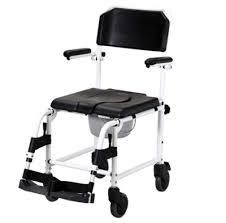 Shower Chairs With Wheels Shower Commode Chair With Casters Sydney