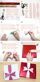 Geschenke Verpacken Schleifen Binden by Weihnachten Geschenkschleife Basteln Einfach Gemacht