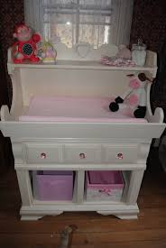 Changing Table With Sink Refurbished Sink Into An Adorable Baby Changing Table For