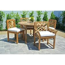 48 round teak table top new 48 round patio table or patio furniture round dining table