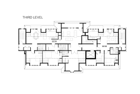 Penthouse Floor Plan by Floor Plans Penthouse Qualicum College Heights Luxury Condos