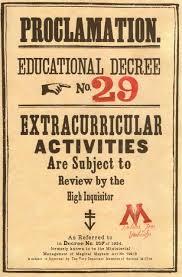 educational decree harry pinterest harry potter