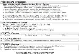 How To List Hobbies On A Resume Interest Resume Coinfetti Co