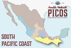 regions of mexico map the seven regions of mexican cuisine