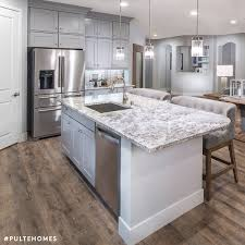 pulte homes interior design this inviting kitchen is the epitome of refined elegance in chic