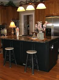 painted kitchen island painting an oak island black hometalk