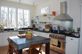 Open Metal Shelving Kitchen by Metal Corbels Support Open Shelving Concept Osborne Wood Videos