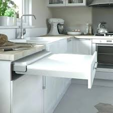 cuisine et vins de abonnement table cuisine escamotable ou rabattable table de cuisine escamotable