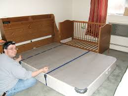 Side Bed Crib Crib Side Bed Take One Side The Crib Our Crib Can Also