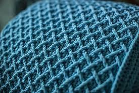 Crochet Ottoman Ravelry Woven Ottoman Pattern By Laurinda Reddig