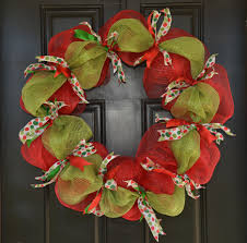 deco mesh ideas christmas wreath ideas with deco mesh in ideal decoration ideas