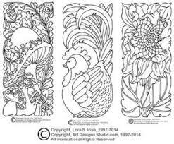 leather carving pdf patterns patterns kid