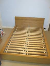 ikea queen bed frame used ikea malm queen bed frame with slats