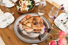being charged by family to eat thanksgiving dinner popsugar