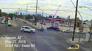 red light traffic violation red light running violation in tucson arizona youtube