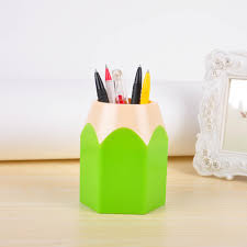 pen holder vase makeup pot brush tidy pencil container stationery