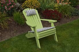 folding reclining adirondack chair amish woodwork