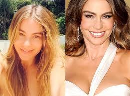 sofia vergara stars without makeup celebrity nevina
