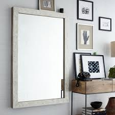 Crate And Barrel Dubois Mirror by Parsons Large Wall Mirror Bone Inlay 135h 91w Home Ideas
