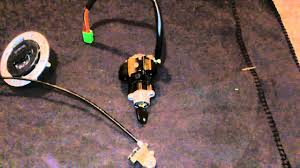 1999 gsxr 600 complete lockset ignition switch youtube